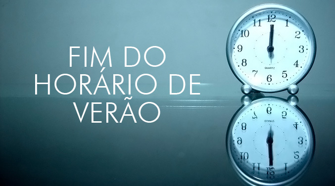 fim do horario